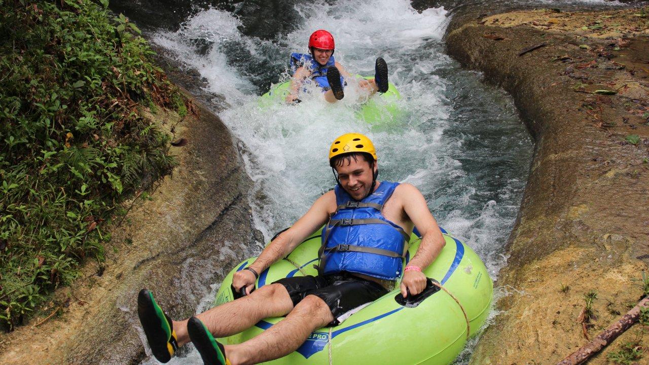 JAMAICA RIVER TUBING ADVENTURE TOUR ON THE RIO BUENO