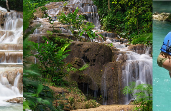 DUNN'S RIVER FALLS, KONOKO FALLS & BLUE HOLE WATERFALLS TOUR (BEST OF OCHO RIOS FALLS)