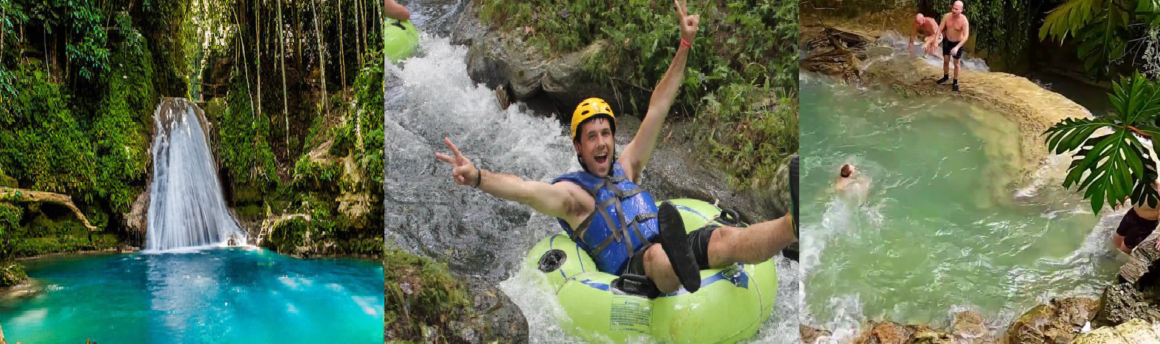 BLUE HOLE WATERFALLS, RIVER TUBING & DUNN'S RIVER FALLS TOUR