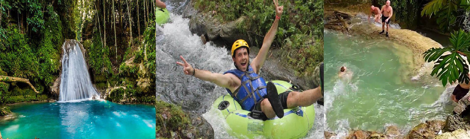 BLUE HOLE WATERFALLS, RIVER TUBING & DUNN'S RIVER FALLS TOUR